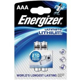 Батарейки Energizer Ultimate Lithium FR03/L92 AAA - 2 шт.
