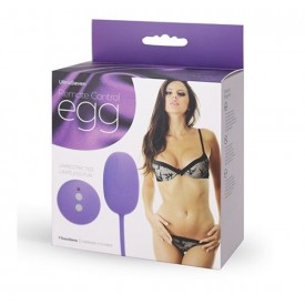 Фиолетовое виброяичко с ДУ REMOTE CONTROL EGG PURPLE